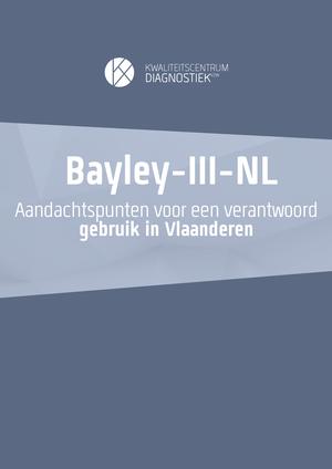 Aandachtspunten Bayely-III-NL