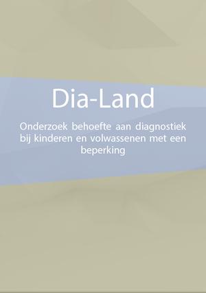 Rapport onderzoek Dia-Land