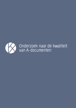 Onderzoek kwaliteit A-documenten